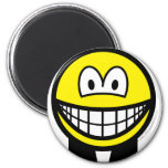 Clerical smile   fridge_magents_magnet