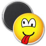 Crazy emoticon   fridge_magents_magnet