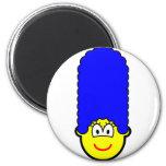 Simpson buddy icon Marge  fridge_magents_magnet