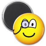 Monocle emoticon   fridge_magents_magnet
