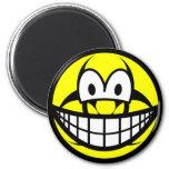 Biohazard smile version II  fridge_magents_magnet