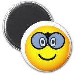 Verrekijker emoticon   fridge_magents_magnet