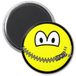 Zipped up smile   fridge_magents_magnet