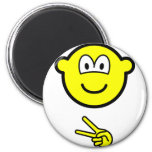 Scissors buddy icon rock - paper - scissors  fridge_magents_magnet