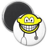 Doctor smile Stethoscope  fridge_magents_magnet