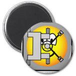 Safe emoticon   fridge_magents_magnet