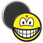 Hindu smile   fridge_magents_magnet