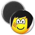 Bruce Lee emoticon   fridge_magents_magnet