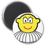 Ballerina buddy icon   fridge_magents_magnet