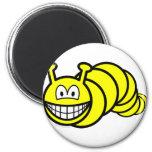 Caterpillar smile   fridge_magents_magnet