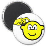 Head scratching buddy icon   fridge_magents_magnet