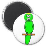 Parrot emoticon   fridge_magents_magnet