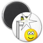 Speed camera emoticon Caught  fridge_magents_magnet