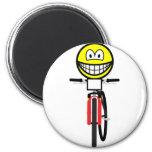 Mountain biking smile Olympic sport Cycling fridge_magents_magnet
