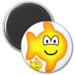 Pisces emoticon Zodiac sign  fridge_magents_magnet