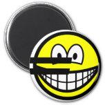 Euro symbol smile   fridge_magents_magnet