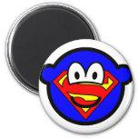 Superman buddy icon Logo  fridge_magents_magnet