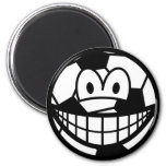 Soccer ball smile   fridge_magents_magnet