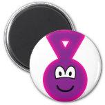 Teletubbie emoticon Tinky Winky  fridge_magents_magnet