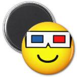 3D bril emoticon   fridge_magents_magnet