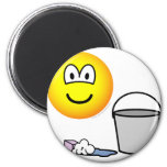 Cleaning emoticon   fridge_magents_magnet