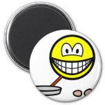 Frying smile   fridge_magents_magnet