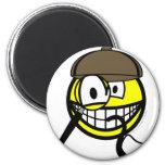 Sherlock Homes smile   fridge_magents_magnet