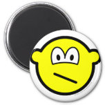 Confused buddy icon   fridge_magents_magnet
