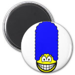 Simpson smile Marge  fridge_magents_magnet