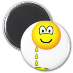 Leaking emoticon   fridge_magents_magnet