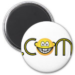 Dot com emoticon   fridge_magents_magnet