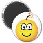 Bomb emoticon   fridge_magents_magnet