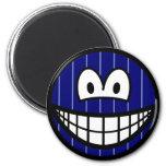 Pinstripe smile   fridge_magents_magnet