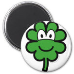 Good luck clover buddy icon   fridge_magents_magnet