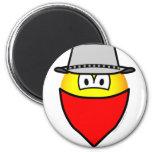 Bandit emoticon   fridge_magents_magnet