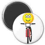 Mountain biking emoticon Olympic sport Cycling fridge_magents_magnet