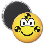 Crash test dummy emoticon   fridge_magents_magnet