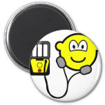 Heart defibrillator buddy icon   fridge_magents_magnet