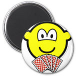 Card playing buddy icon   fridge_magents_magnet
