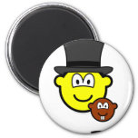Groundhog day buddy icon shadow  fridge_magents_magnet