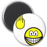 High five smile   fridge_magents_magnet