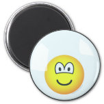 Emoticon living in a bubble   fridge_magents_magnet