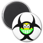 Biohazard smile version I  fridge_magents_magnet