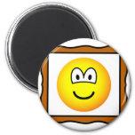 Picture frame emoticon   fridge_magents_magnet