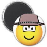 Cowboy emoticon   fridge_magents_magnet