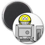 Computing smile   fridge_magents_magnet