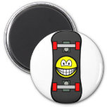 Skateboard smile   fridge_magents_magnet