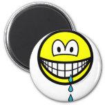 Drool smile   fridge_magents_magnet