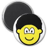 Afro buddy icon   fridge_magents_magnet
