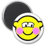 Shy buddy icon   fridge_magents_magnet